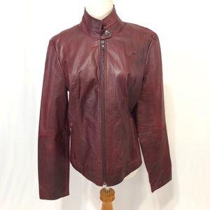 🔥NEW!🔥 BB Dakota Red Leather Jacket